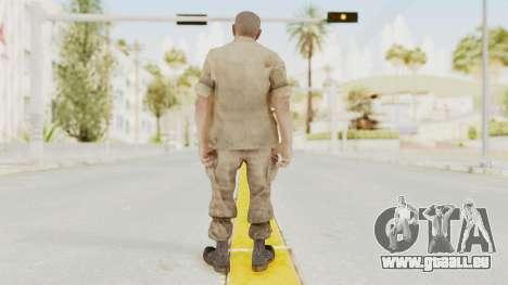 COD BO Reznov Macv pour GTA San Andreas troisième écran