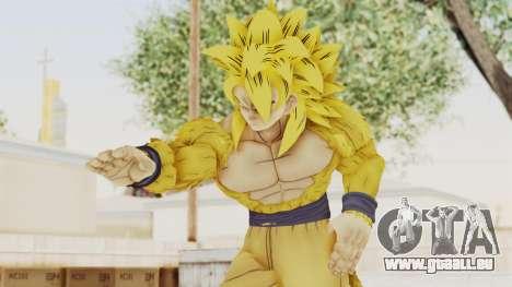 Dragon Ball Xenoverse Goku SSJ4 Golden für GTA San Andreas