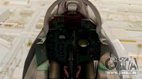 MIG-21 BIS Air Force Argentinien für GTA San Andreas rechten Ansicht