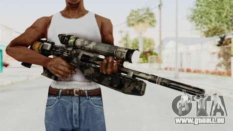 VC32 Sniper Rifle pour GTA San Andreas troisième écran