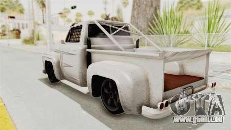 GTA 5 Slamvan Race PJ1 für GTA San Andreas Innenansicht