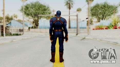 Captain America Civil War - Captain America für GTA San Andreas dritten Screenshot