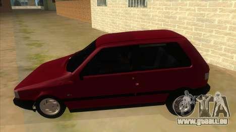 Fiat Uno S für GTA San Andreas linke Ansicht