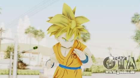 Dragon Ball Xenoverse Gohan Teen DBS SSJ1 v2 für GTA San Andreas