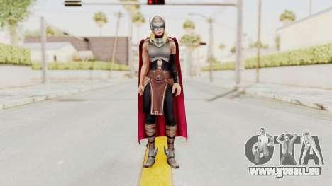 Marvel Future Fight - Thor (Jane Foster) pour GTA San Andreas deuxième écran