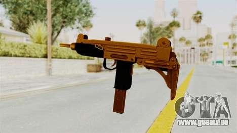 Uzi Gold pour GTA San Andreas troisième écran