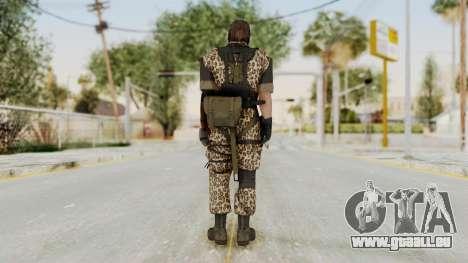 MGSV The Phantom Pain Venom Snake Animals pour GTA San Andreas troisième écran