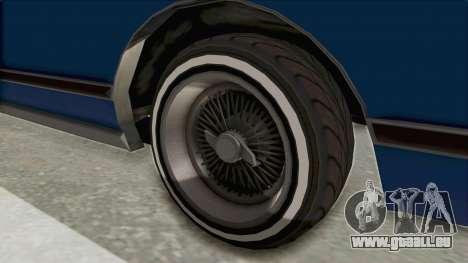 GTA 5 Dundreary Virgo Classic Custom v1 IVF pour GTA San Andreas vue arrière