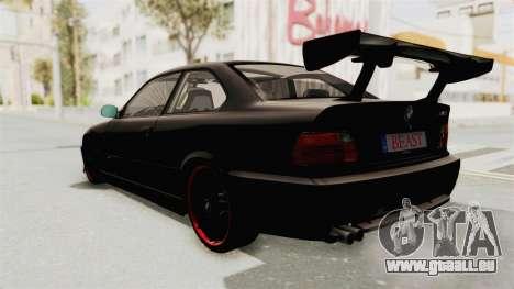 BMW M3 E36 Beast für GTA San Andreas rechten Ansicht