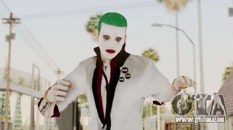 The Joker from Suicide Squad Re-Textured pour GTA San Andreas