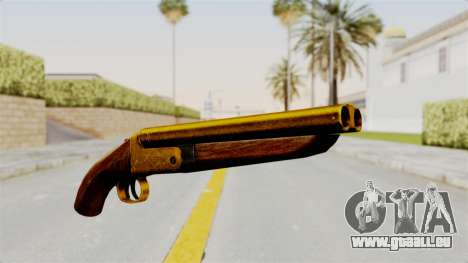 Sawnoff Gold pour GTA San Andreas