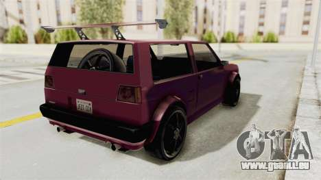 New Club Modification für GTA San Andreas zurück linke Ansicht
