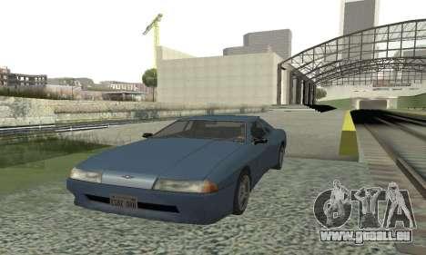 Standard Élégie avec un aileron rétractable pour GTA San Andreas