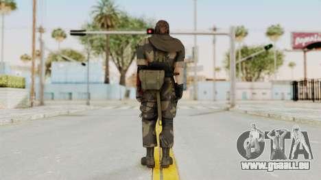 MGSV The Phantom Pain Venom Snake Scarf v4 pour GTA San Andreas troisième écran