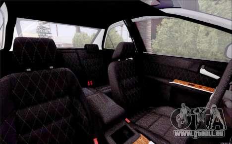 Toyota Camry V6 Sprot Edition für GTA San Andreas Innenansicht