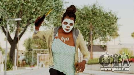 GTA 5 Denise Clinton v1 für GTA San Andreas