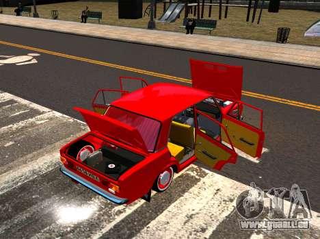 VAZ 21011 Usine pour GTA 4 est une vue de l'intérieur