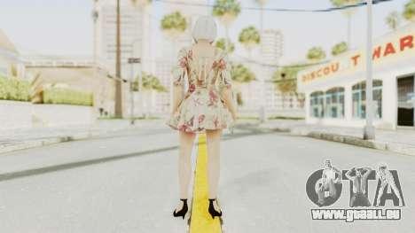 Dead Or Alive 5 LR - Christie Casual New Hair pour GTA San Andreas troisième écran