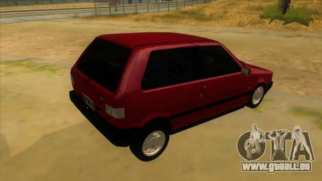 Fiat Uno S für GTA San Andreas rechten Ansicht