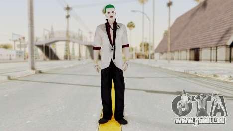 The Joker from Suicide Squad Re-Textured pour GTA San Andreas deuxième écran