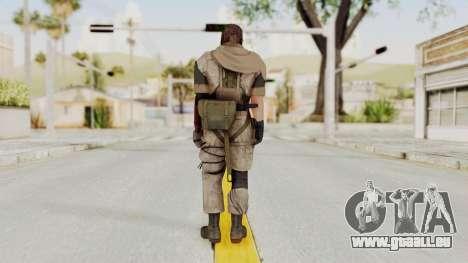 MGSV The Phantom Pain Venom Snake Sc No Patch v3 pour GTA San Andreas troisième écran