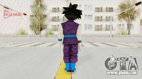 Dragon Ball Xenoverse Gohan Teen DBS SJ v1 pour GTA San Andreas troisième écran