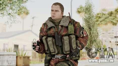 Battery Online Russian Soldier 9 v2 für GTA San Andreas