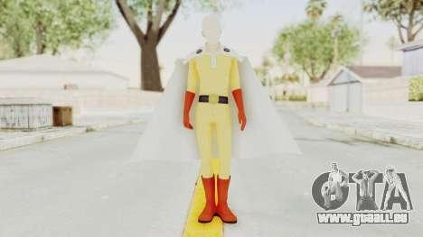 Saitama One Punch Man pour GTA San Andreas deuxième écran