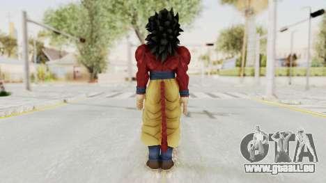 Dragon Ball Xenoverse Goku SSJ4 für GTA San Andreas dritten Screenshot