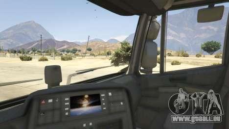 GTA 5 Iveco Stralis HI-WAY arrière droit vue de côté