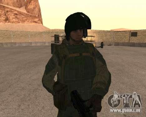 Des forces spéciales de la Fédération de russie pour GTA San Andreas cinquième écran