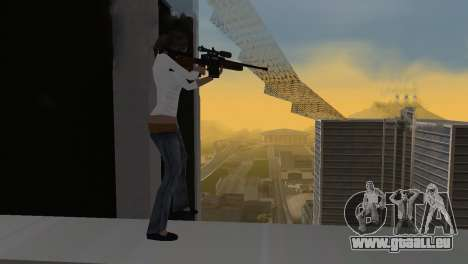 VIP Sniper Rifle pour GTA San Andreas troisième écran