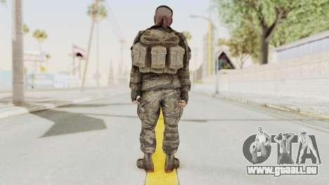 COD BO SOG Reznov v1 pour GTA San Andreas troisième écran