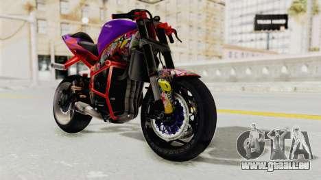 Kawasaki Ninja ZX-6R Stunter für GTA San Andreas