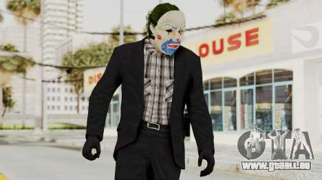 Joker Heist Outfit GTA 5 Style pour GTA San Andreas