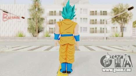Dragon Ball Xenoverse Goku SSGSS V2.0 pour GTA San Andreas troisième écran