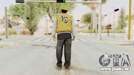 GTA 5 Los Santos Vagos Member 2 pour GTA San Andreas troisième écran