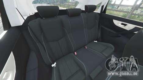 GTA 5 Infiniti FX S50 volant