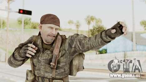 COD BO SOG Reznov v1 pour GTA San Andreas