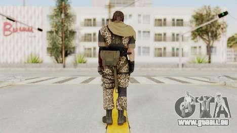 MGSV The Phantom Pain Venom Snake Sc No Patch v8 pour GTA San Andreas troisième écran