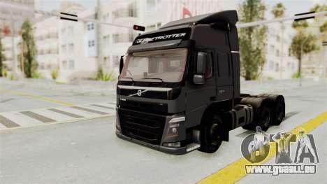 Volvo FM Euro 6 6x4 v1.0 pour GTA San Andreas vue de droite