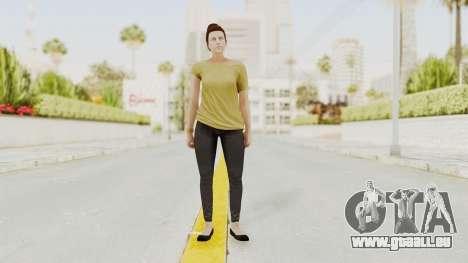 GTA 5 Online Female Skin 1 pour GTA San Andreas deuxième écran
