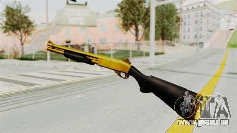 Remington 870 Gold pour GTA San Andreas troisième écran