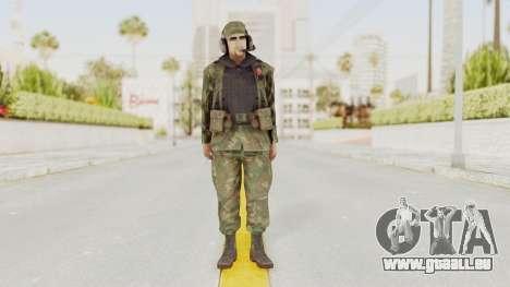 MGSV Ground Zeroes US Pilot v2 für GTA San Andreas zweiten Screenshot