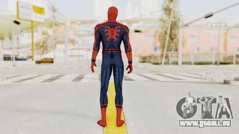 Captain America Civil War - Spider-Man pour GTA San Andreas troisième écran