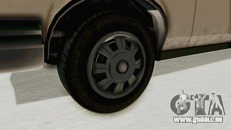 GTA 4.5 Greenwood v.0.9 pour GTA San Andreas vue arrière