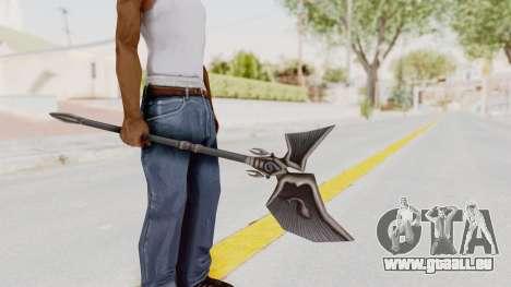 Ei Of The Water Weapon pour GTA San Andreas troisième écran