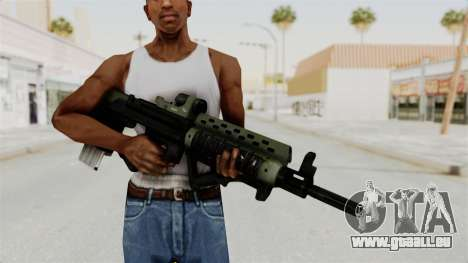 Killzone - M82 Assault Rifle pour GTA San Andreas troisième écran