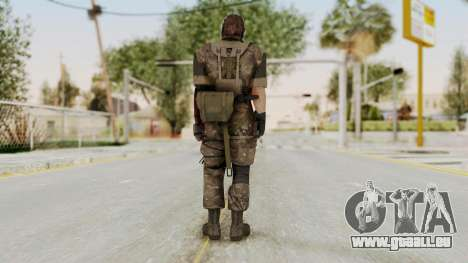 MGSV The Phantom Pain Venom Snake No Eyepatch v9 pour GTA San Andreas troisième écran