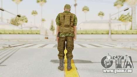 MGSV The Phantom Pain Soviet Union No Sleeve v2 pour GTA San Andreas troisième écran